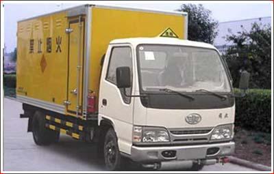 解放爆破器材运输车